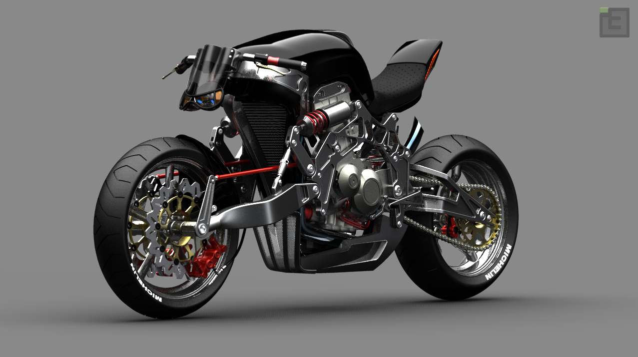 Roadster Fallout Concept Bikemotorcycletuned
