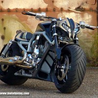 Harley Davidson V-Rod by Tecno Bike