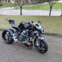 KTM RC8 Street Bike by French Biker