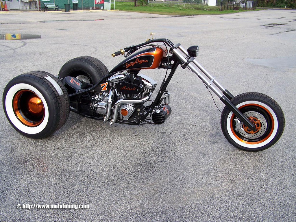 trike trike harley davidson lucky 7 by santiago. Black Bedroom Furniture Sets. Home Design Ideas