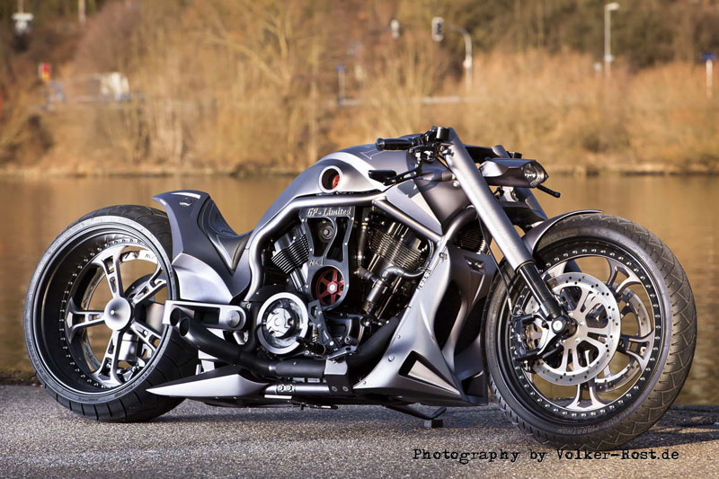 custom harley davidson v rod gp 1 by no limit. Black Bedroom Furniture Sets. Home Design Ideas